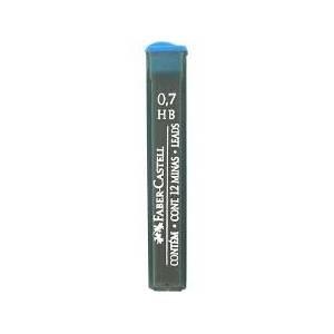 Mine 0.7mm Faber Castell 12pz Grafite HB