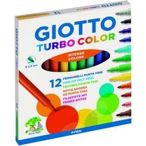 Pennarelli Giotto Turbo Color 12pz