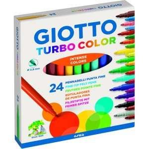 Pennarelli Giotto Turbo Color 24pz