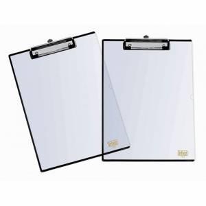 Porta Blocco A4 Lebez PVC Trasparente c/Tasca