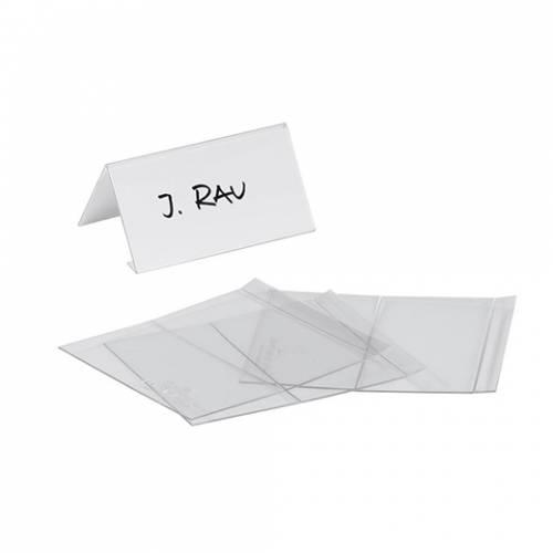Porta nome da tavolo durable 10pz 5x10cm - Porta bandiere da tavolo ...