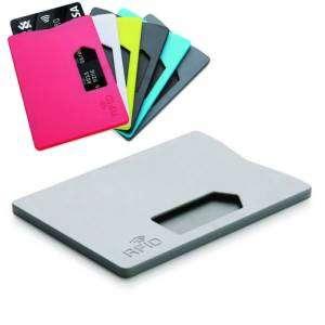 Porta Carte Credito x1 RFID Grigio
