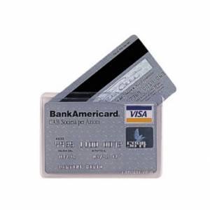 Porta Carte Credito x2 Trasparente
