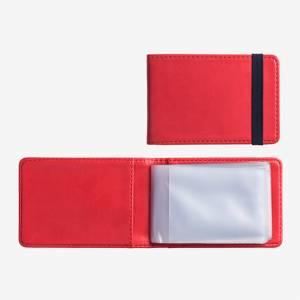 Porta Carte Credito x10 Legami Rosso