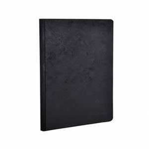 Quaderno 15x21cm 192pag Clairefontaine AgeBag Nero Righe
