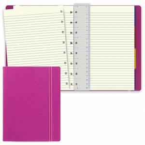 Notebook Filofax 15x21cm Fuxia Righe