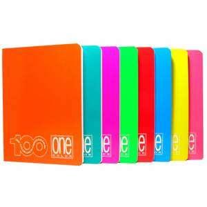 Quaderno Maxi A4_5mm+M_100gr Blasetti OneColor