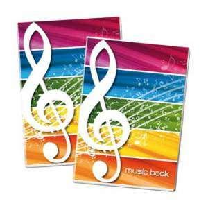 Quaderno Musica A4 100gr Blasetti
