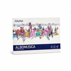 Quaderno Musica 24x17cm 80gr Blasetti