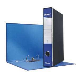 Registratore 2 Anelli 23x30x5cm c/scatola Esselte Oxford Blu