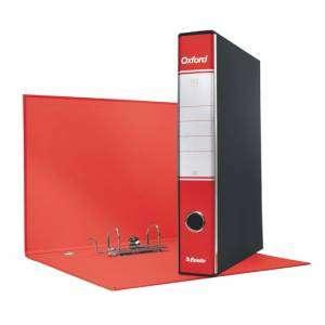 Registratore 2 Anelli 23x30x5cm c/scatola Esselte Oxford Rosso