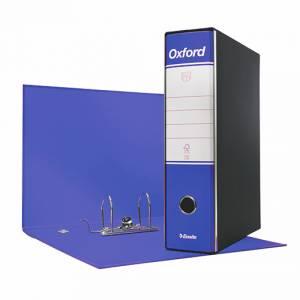 Registratore 2 Anelli 23x30x8cm c/scatola Esselte Oxford Blu