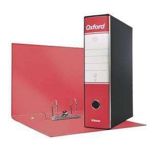 Registratore 2 Anelli 23x30x8cm c/scatola Esselte Oxford Rosso