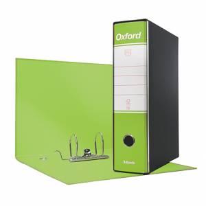 Registratore 2 Anelli 23x30x8cm c/scatola Esselte Oxford Verde Lime
