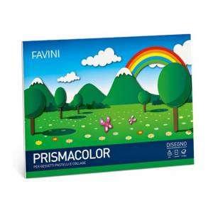 ALBUM FAVINI PRISMACOLOR 10 FOGLI 24x33cm-COLORI ASS.TI