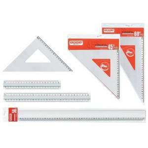 Squadra 45°/30cm Arda Alluminio
