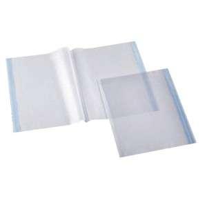 Copri Libro XL C/Biadesivo Trasparente