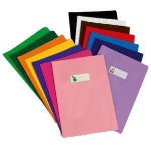 Copri Quaderno A4 PVC Nero