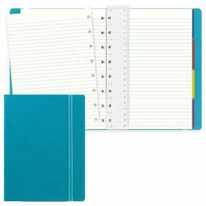 Notebook Filofax 15x21cm Acqua Righe
