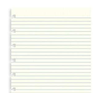 Notebook Filofax 15x21cm  Refill 32fg Righe