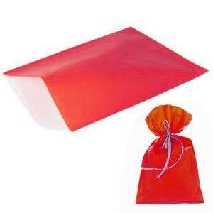 Busta Regalo PPL 25x40cm 50pz Rosso