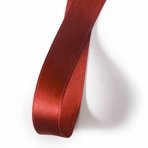 Nastro Doppio Raso mm25x3mt Rosso Porpora