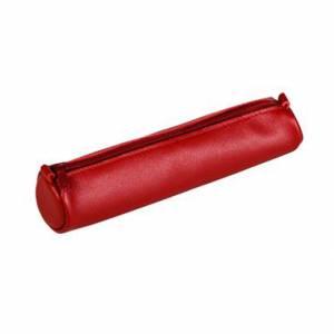 Astuccio Clairefontaine Age Bag 18,5x4cm Pelle Rosso