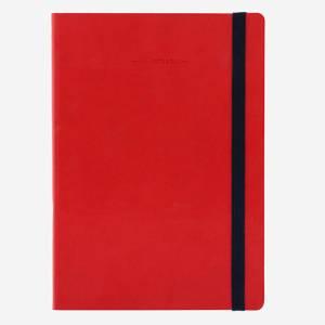 Quaderno 17x24cm 192pag Legami Red Righe
