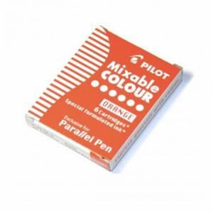 Cartucce Calligrafica Pilot Parallel Pen 6pz Arancione