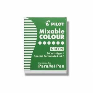Cartucce Calligrafica Pilot Parallel Pen 6pz Verde