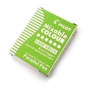 Cartucce Calligrafica Pilot Parallel Pen 6pz Verde Chiaro