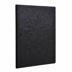 Quaderno 21x30cm 192pag Clairefontaine AgeBag Nero Righe