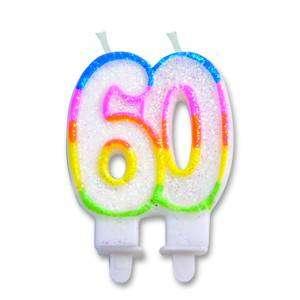 Candelina Numero 60 (12cm)