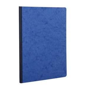 Quaderno 21x30cm 192pag Clairefontaine AgeBag Blu Bianco