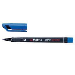 Marcatore Permanente Stabilo OhPen Medio Blu