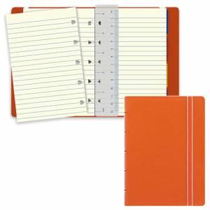 Notebook Filofax  9x14cm Arancione Righe