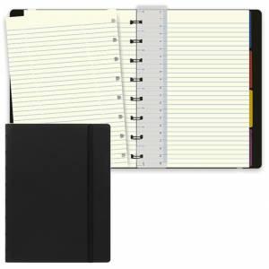 Notebook Filofax 15x21cm Nero Righe