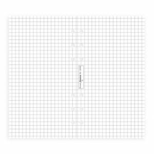 Ricambio  9,5x17cm Filofax Prs 20fg Quadretto Bianco