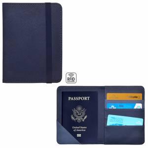 Porta Passaporto RFID Legami Blu