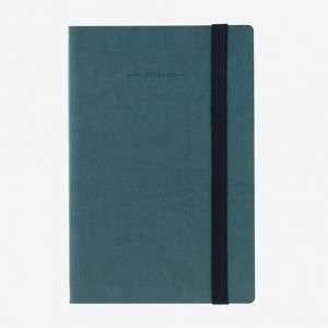 Quaderno 12x18cm 192pag Legami Petrol Blue 5mm