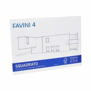 ALBUM FAVINI 4 CARTANGOLI 20 FOGLI 24x33cm-SQUADRATO