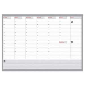 Planning Settimanale 49x34cm Non Datato 52fg