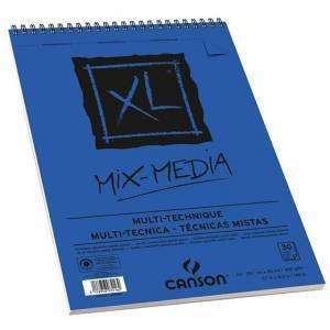 ALBUM CANSON XL MIX MEDIA 30 FOGLI 300gr A3