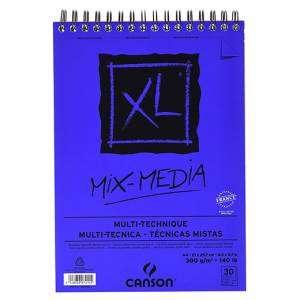 ALBUM CANSON XL MIX MEDIA 30 FOGLI 300gr A4