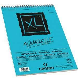 ALBUM CANSON XL AQUARELLE 30 FOGLI 300gr A3