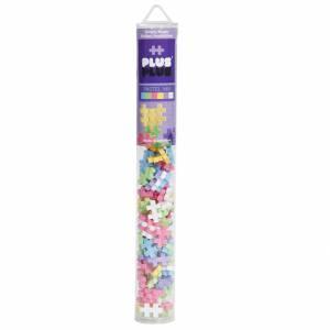 Gioco 3+ Plus Plus Tubo 100pz Pastel Mix
