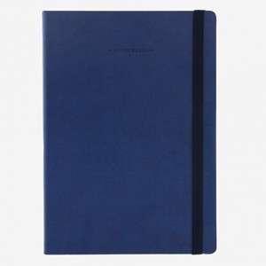 QUADERNO 17x24cm 192pag LEGAMI LARGE BLUE Bianco
