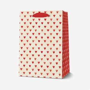 Sacchetto 19x25x11,5cm Legami Hearts