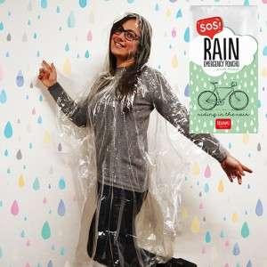 Poncho Sos Rain Emergency Legami
