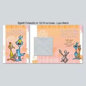 Biglietto Comunione porta Soldi 12x18cm
